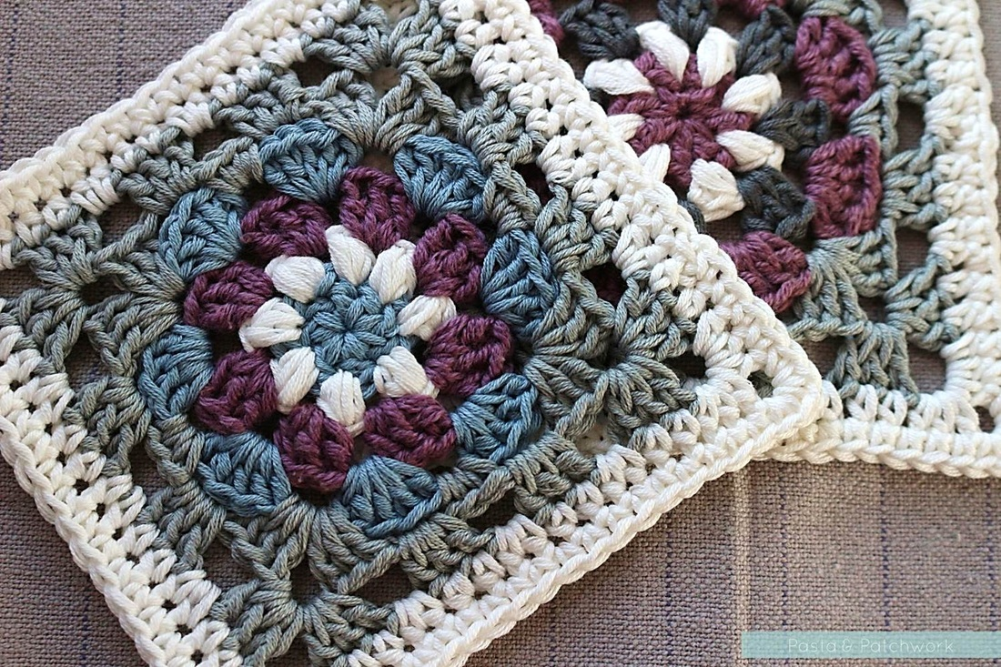 graphic regarding Free Printable Crochet Granny Square Patterns known as Lily Pad\