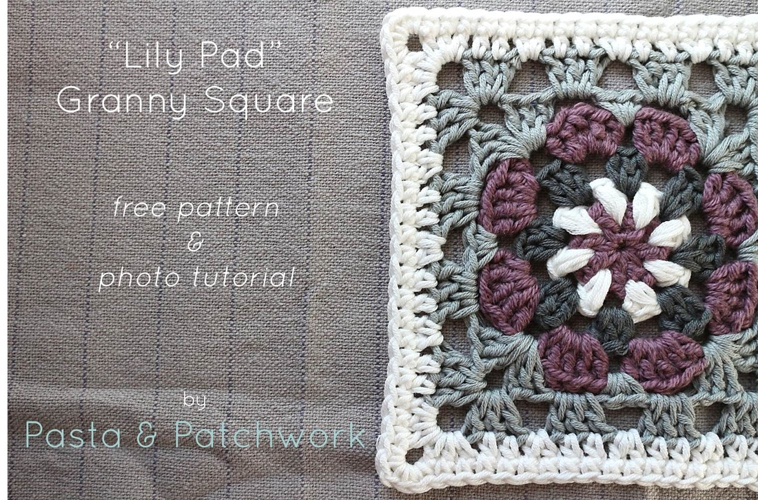 Lily pad granny square free crochet pattern tutorial pasta the inspiration for the colour scheme came from this pin i found with a little help from my lovely little sister in law i think its just yummy bankloansurffo Images