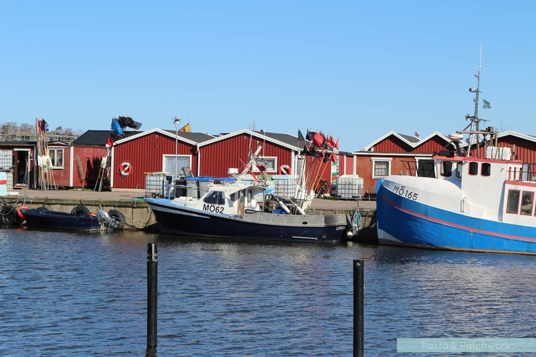 Lomma harbour in Sweden