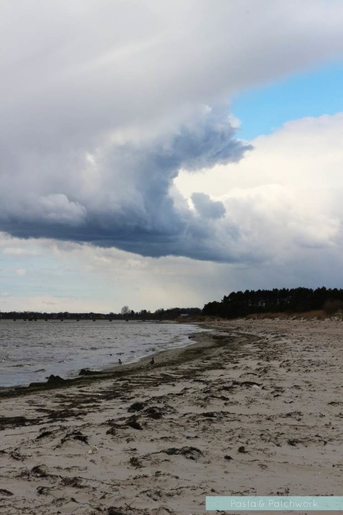 Lomma beach in Sweden
